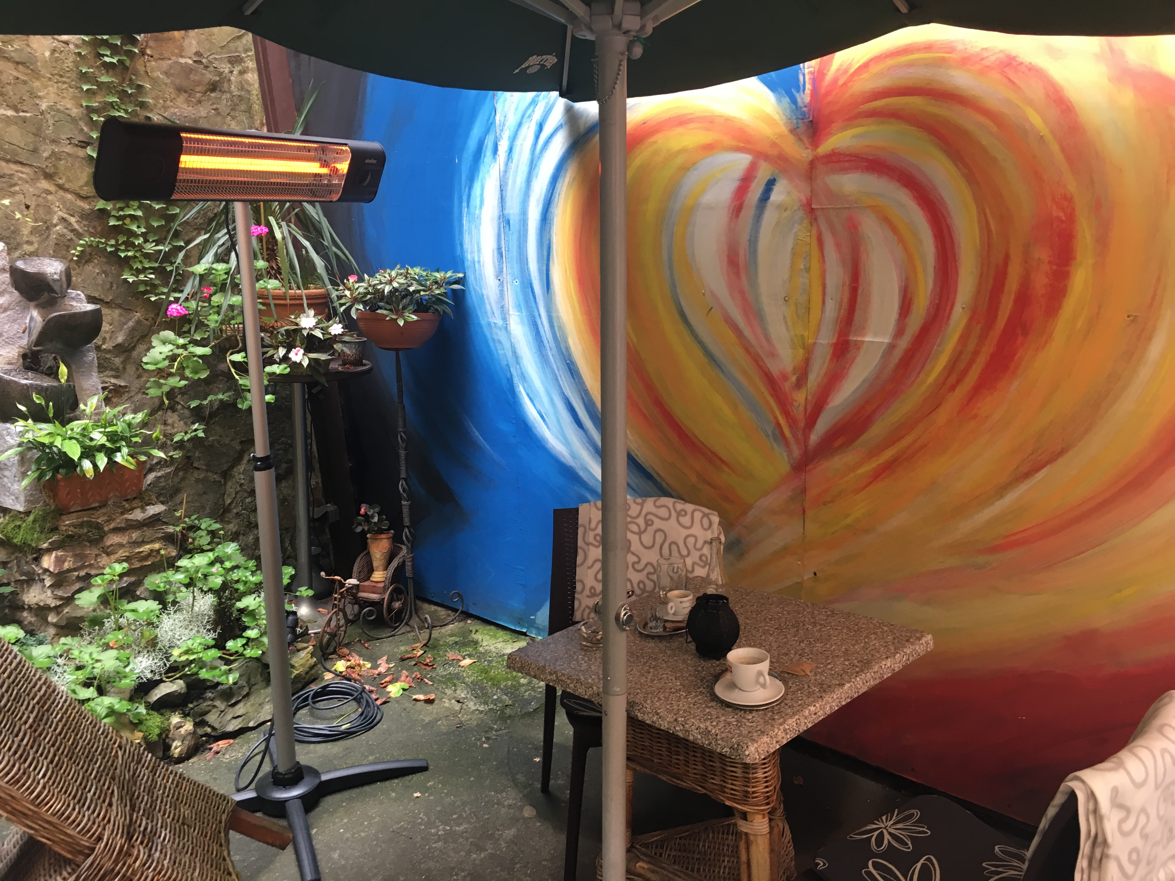 Venkovní kavárna